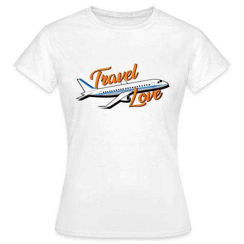 Travel love Air - Camiseta mujer