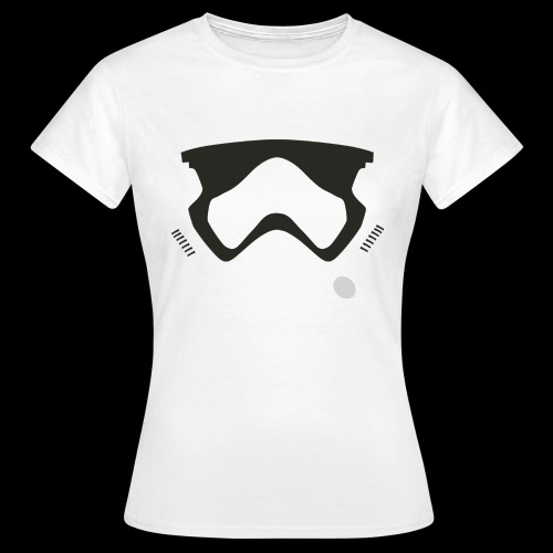 Modern Stormtrooper Face - Women's T-Shirt