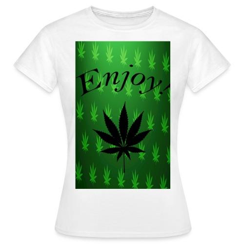 enjoy png - Frauen T-Shirt