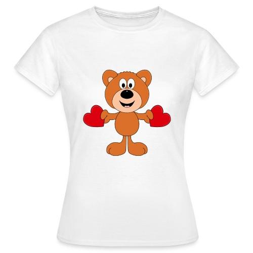 TEDDY - BÄR - LIEBE - LOVE - KIND - BABY - Frauen T-Shirt
