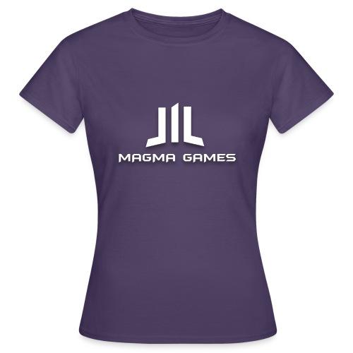 Magma Games mok zwart met - Vrouwen T-shirt