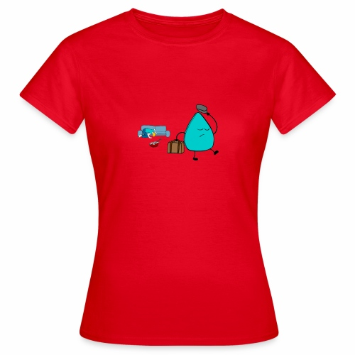 plectrumblauw - Vrouwen T-shirt