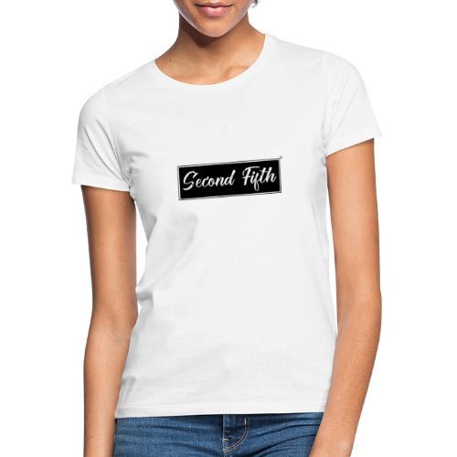 Logo Background noir Second Fifth - T-shirt Femme