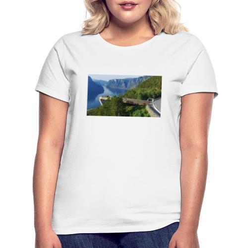 flåm - T-skjorte for kvinner