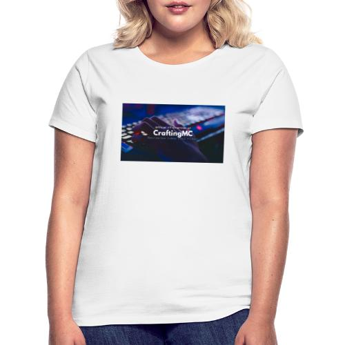 CraftingMC Banner - Frauen T-Shirt