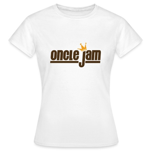 Oncle Jam horizontal brun - T-shirt Femme