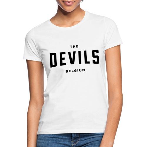 les diables belgique Belgique - T-shirt Femme