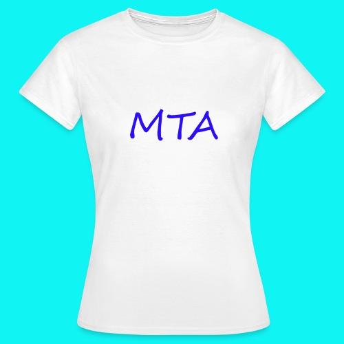 #MTA t-shirts - Dame-T-shirt