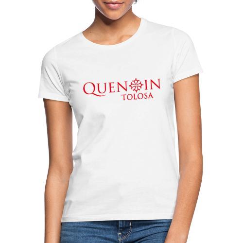 QUENTIN TOLOSA rouge - T-shirt Femme