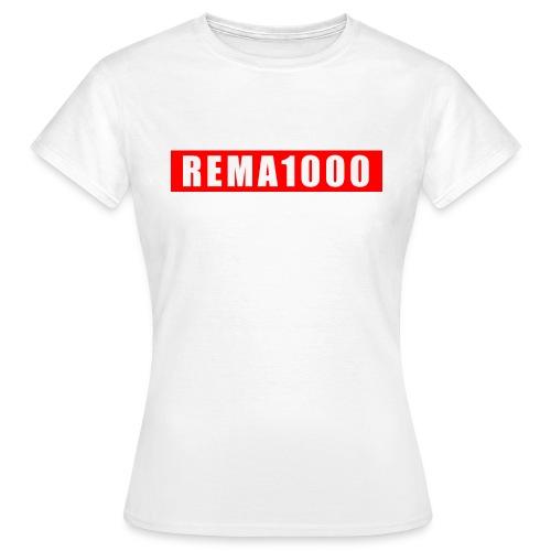 REMA 1000 - Dame-T-shirt