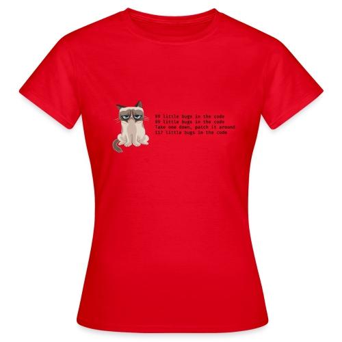 99 litle bugs of code - Vrouwen T-shirt