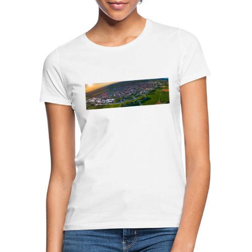 Viernheim von oben - Frauen T-Shirt