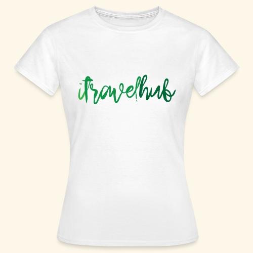 itravelhub logo - Women's T-Shirt