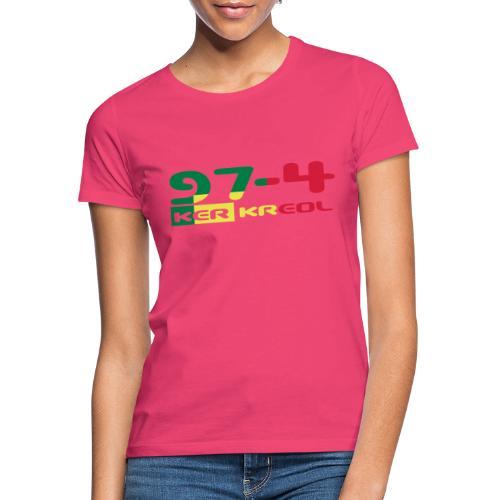 974 ker kreol Rastafari - T-shirt Femme