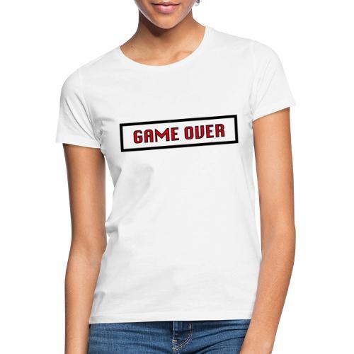 Game Over - T-shirt Femme