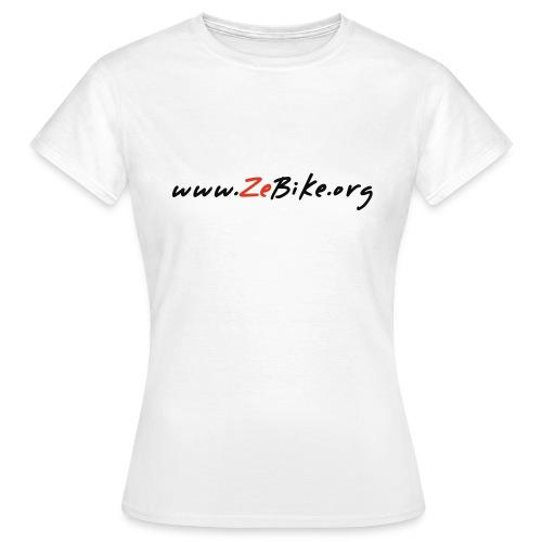 wwwzebikeorg s - T-shirt Femme