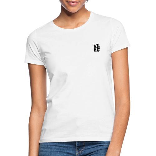 4 Women Isolated Black - Dame-T-shirt