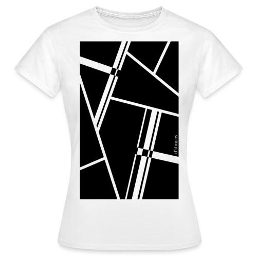 d'shapes black - Maglietta da donna
