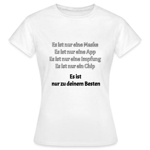 zum Besten - Frauen T-Shirt
