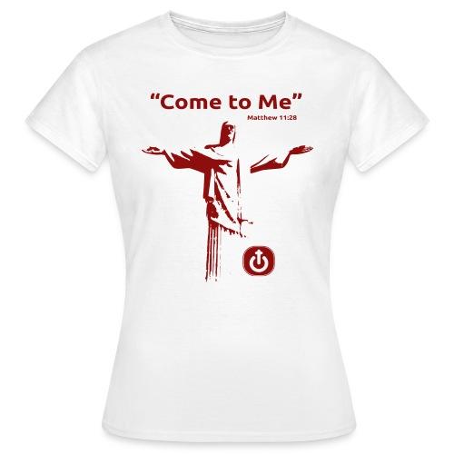 cometome grande logo - Camiseta mujer