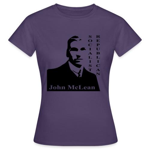 maclean soc rep - Women's T-Shirt