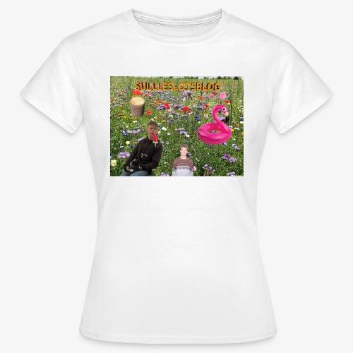 Sulleslotsblog - Dame-T-shirt