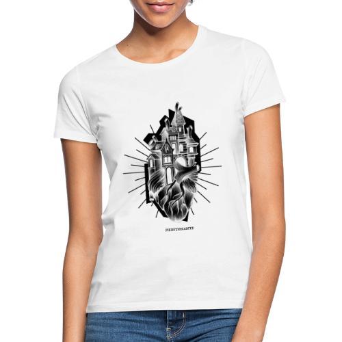 PIEDETONANTE X iorestoacasaArtistiUniti - Maglietta da donna