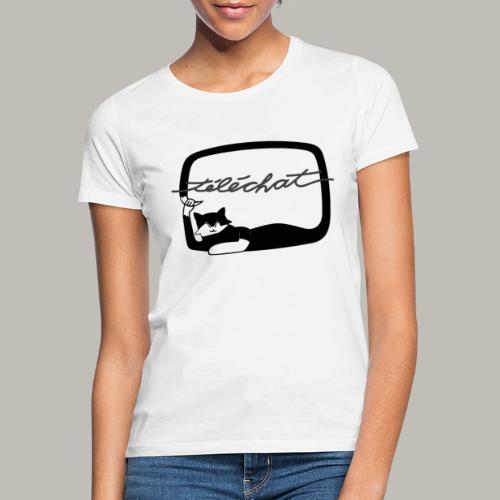 Téléchat - T-shirt Femme