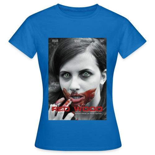 affiche Red Wood - T-shirt Femme
