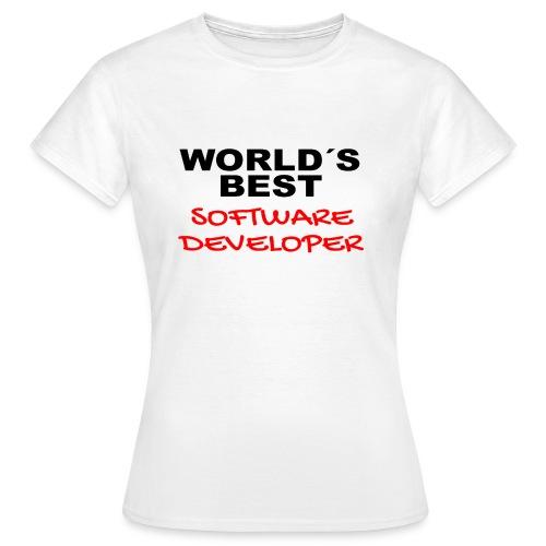 Worldsbest Software Developer - Frauen T-Shirt