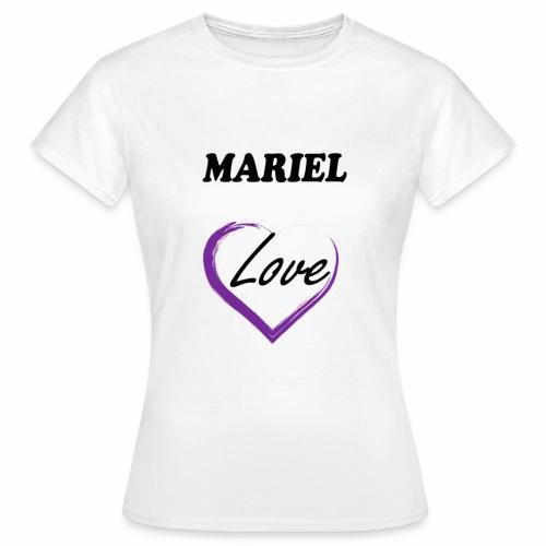 Mariel Love - Camiseta mujer