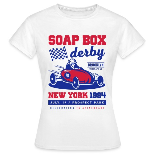SoapBox NewYork - Camiseta mujer