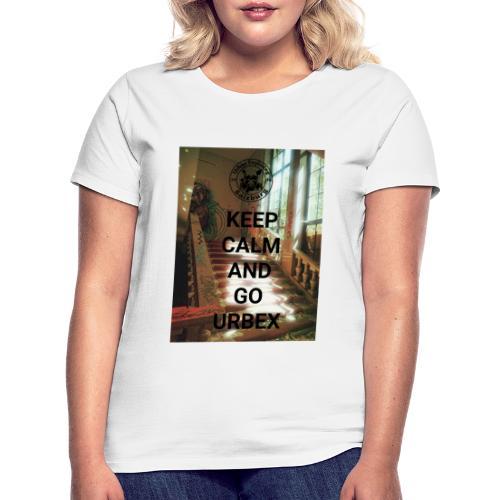 URBEX Salzburg KEEP Calm - Frauen T-Shirt