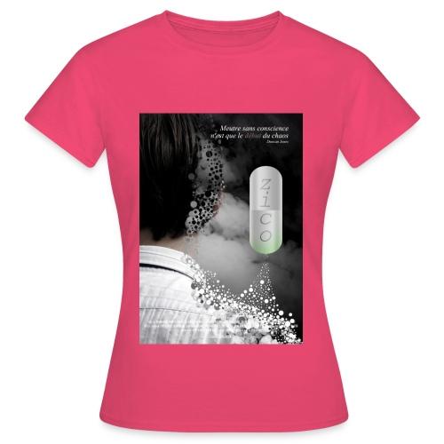 affichezico - T-shirt Femme