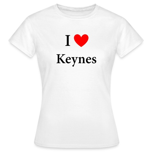 I love Keynes - Frauen T-Shirt