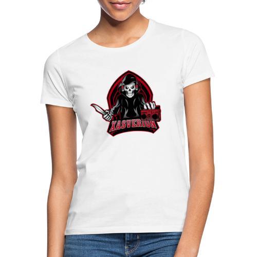 Xasverion Knife/Radio Logo - Vrouwen T-shirt