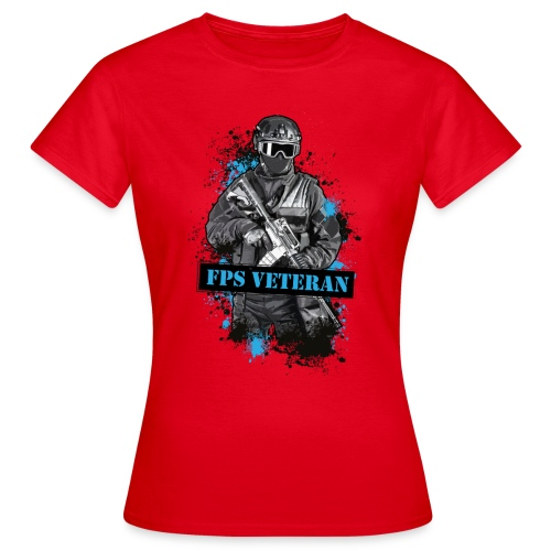 final fpsveteran v2 - Women's T-Shirt