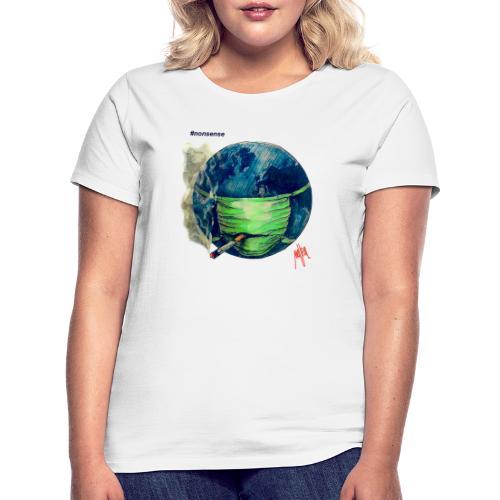 MAUPAL X iorestoacasaArtistiUniti - Maglietta da donna