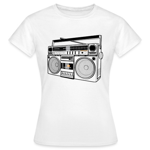 Boombox - Women's T-Shirt