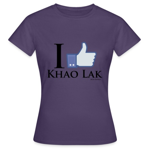 Like Khao Lak Black - Frauen T-Shirt