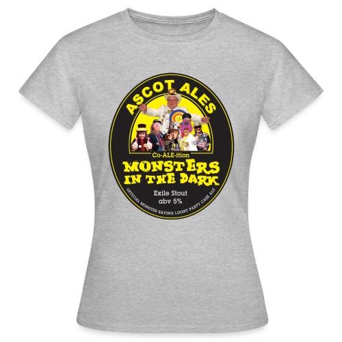 Monster_In_Dark - Women's T-Shirt