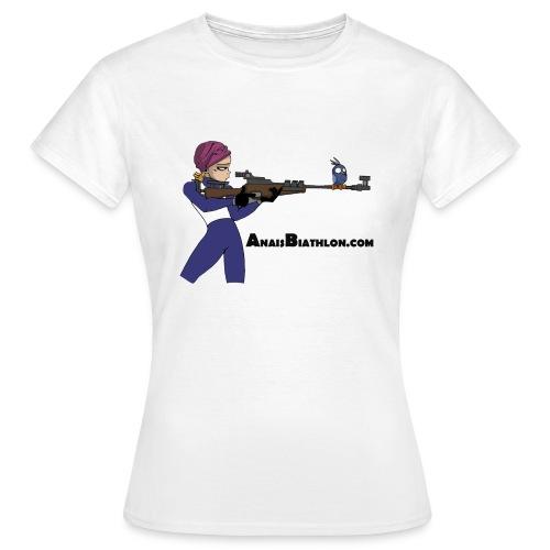 anaisbiathlon2 - T-shirt Femme