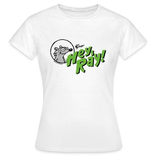 Hey Ray Logo green - Frauen T-Shirt