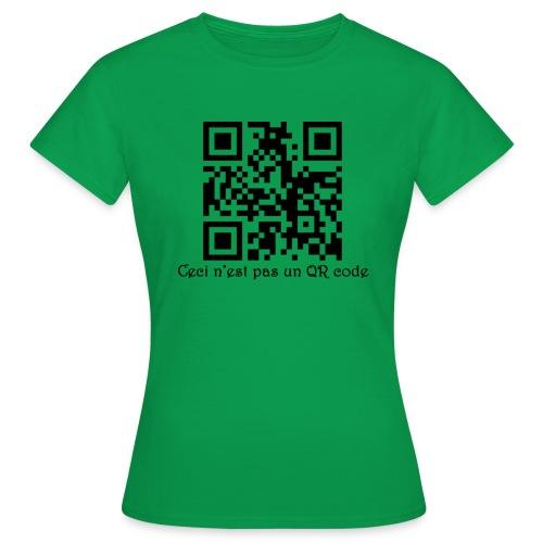 flashcode png - T-shirt Femme