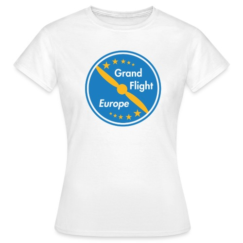 Grand Flight Europe Logo - Frauen T-Shirt