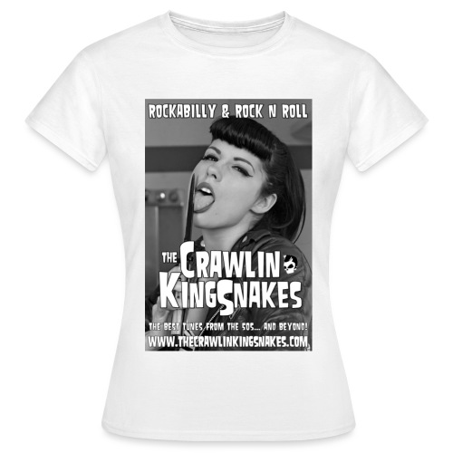 knifegirl promo 300dpi jpg - Women's T-Shirt
