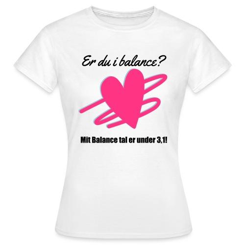 I Balance Design - Dame-T-shirt