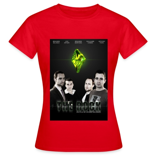 affiche The Rock - T-shirt Femme
