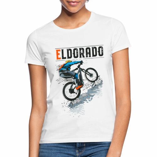 E MTB ELDORADO - Frauen T-Shirt