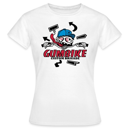 gumbike-monster - T-shirt Femme